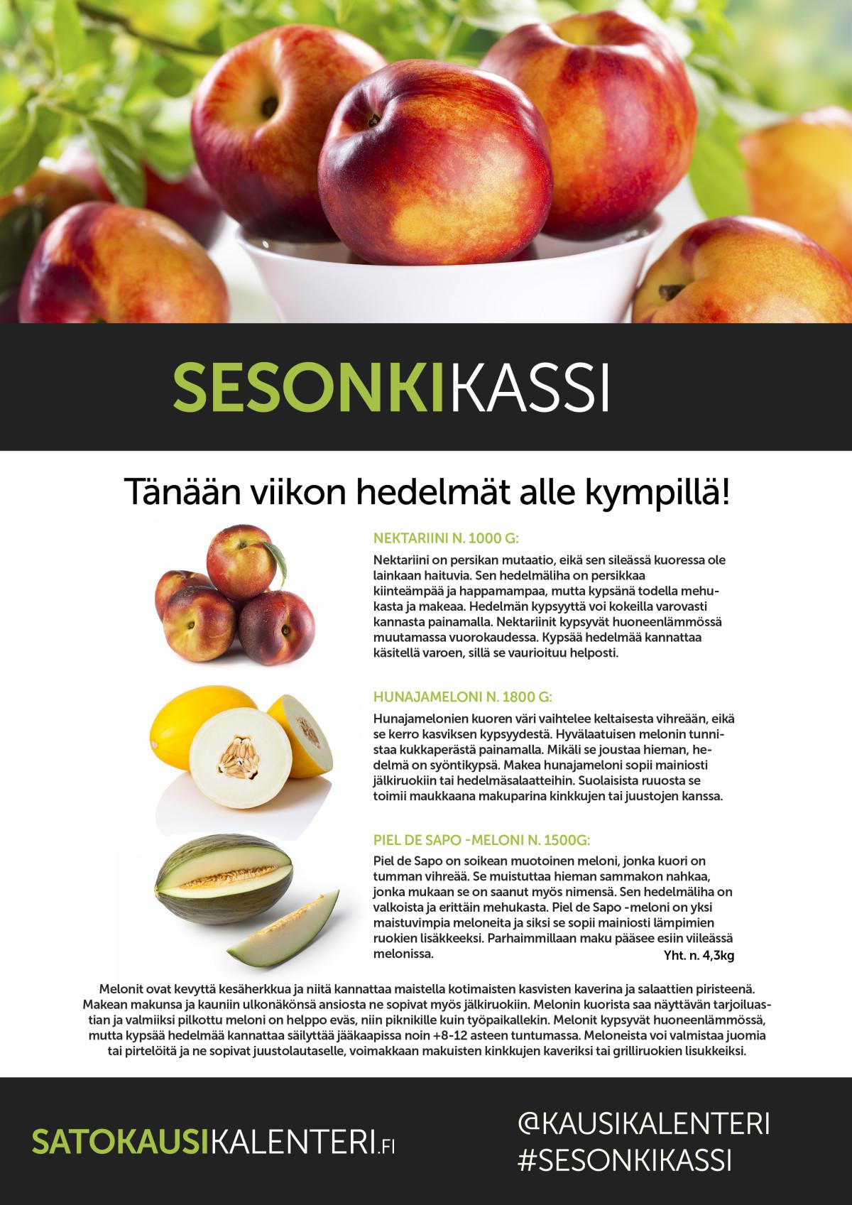 K-Supermarket Postitalon Sesonkikassin sisältö 12.6.2015
