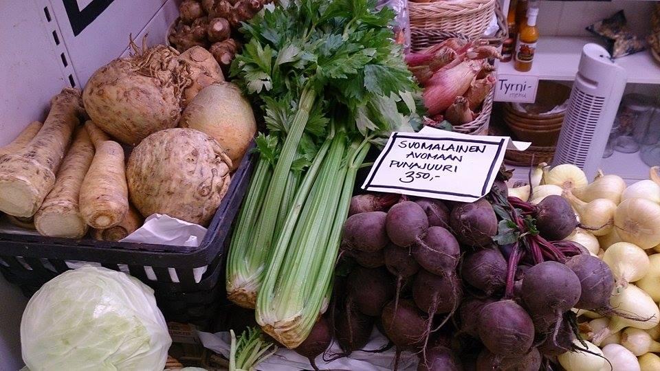 Suosimalla satokauden kasviksia syöt monipuolisemmin ja säästät rahaa sekä ympäristöä
