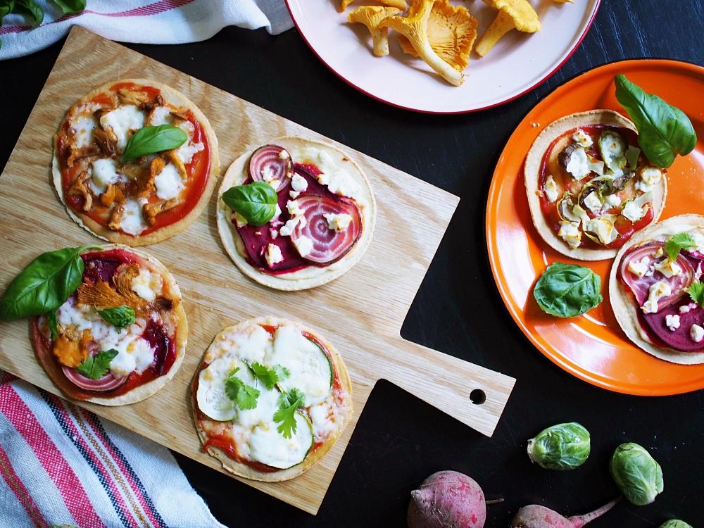 Onko tässä helpoin pizza ikinä? – Nyt tulee tortillapizza!