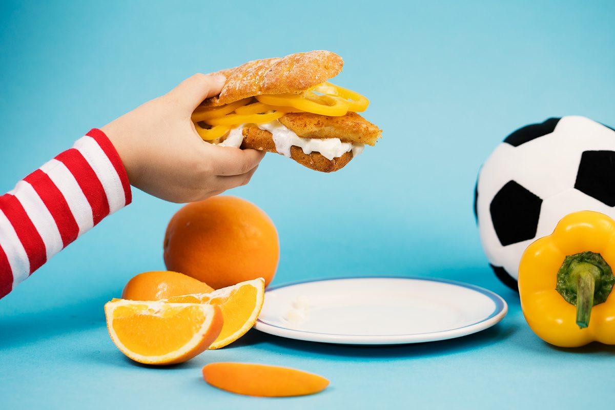 Lapsen päivän C-vitamiinit välipalasta – Fish & Chipsin uusi muoto