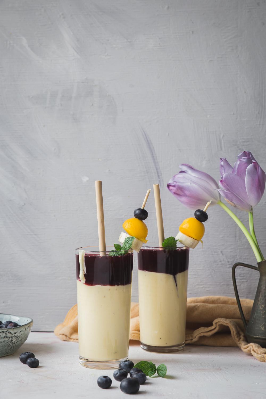 mango-mustikkasmoothie