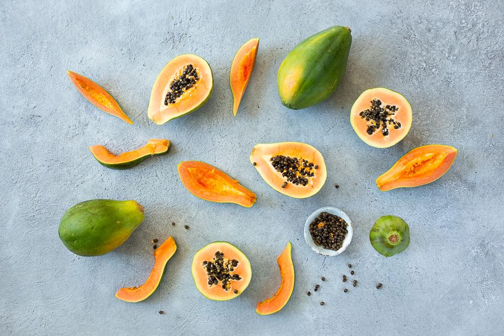 Nyt sesongissa herkullinen papaija!