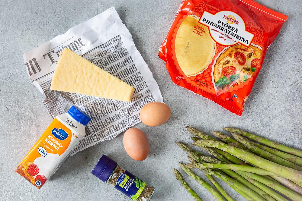 Parsa-juustopiirakka on helppo valmistaa