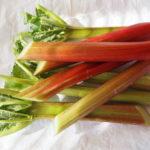 Raparperiruotien heleä vaaleanpunaisuus tuo mieleen vesimelonin hedelmälihan värisävyn, vihreys puolestaan limetin raikkauden