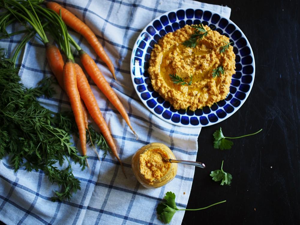 Porkkanapesto