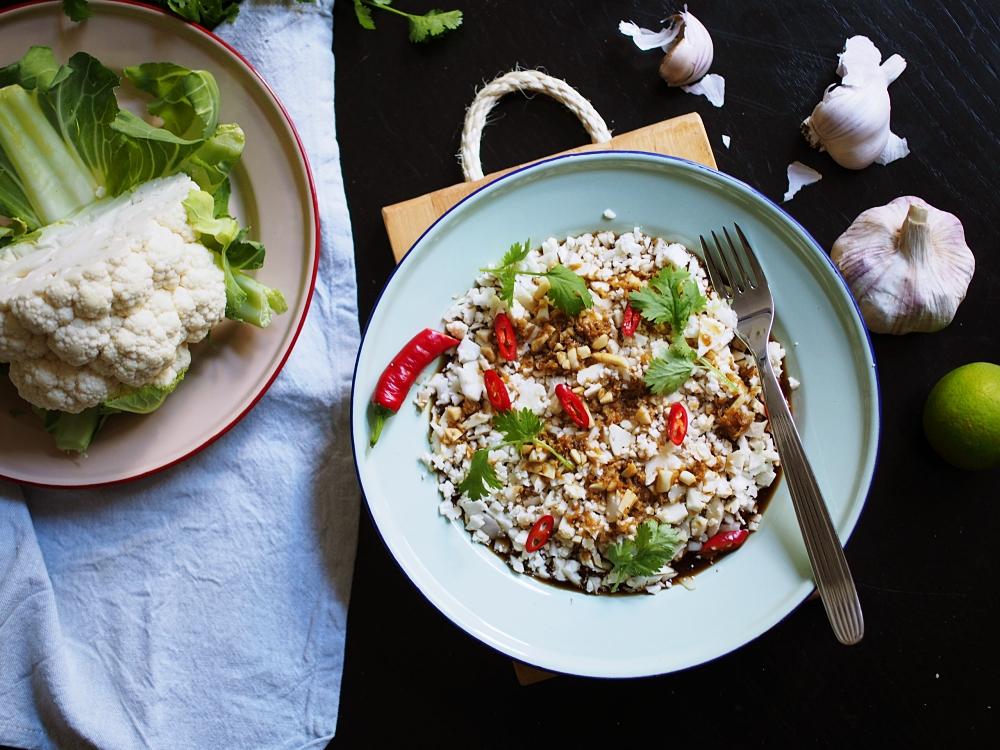 Kukkakaali aasialaisittain – Suussasulava resepti