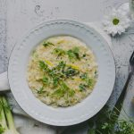 sitruunainen fenkolirisotto / Hannan soppa